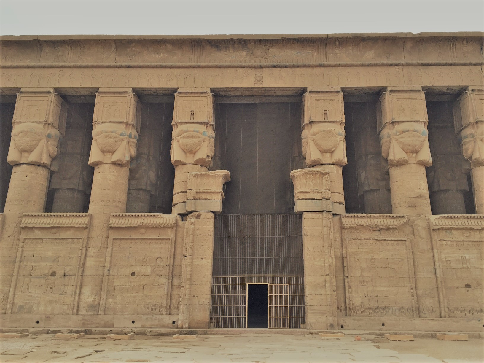 The Sacred Temple of Hathor