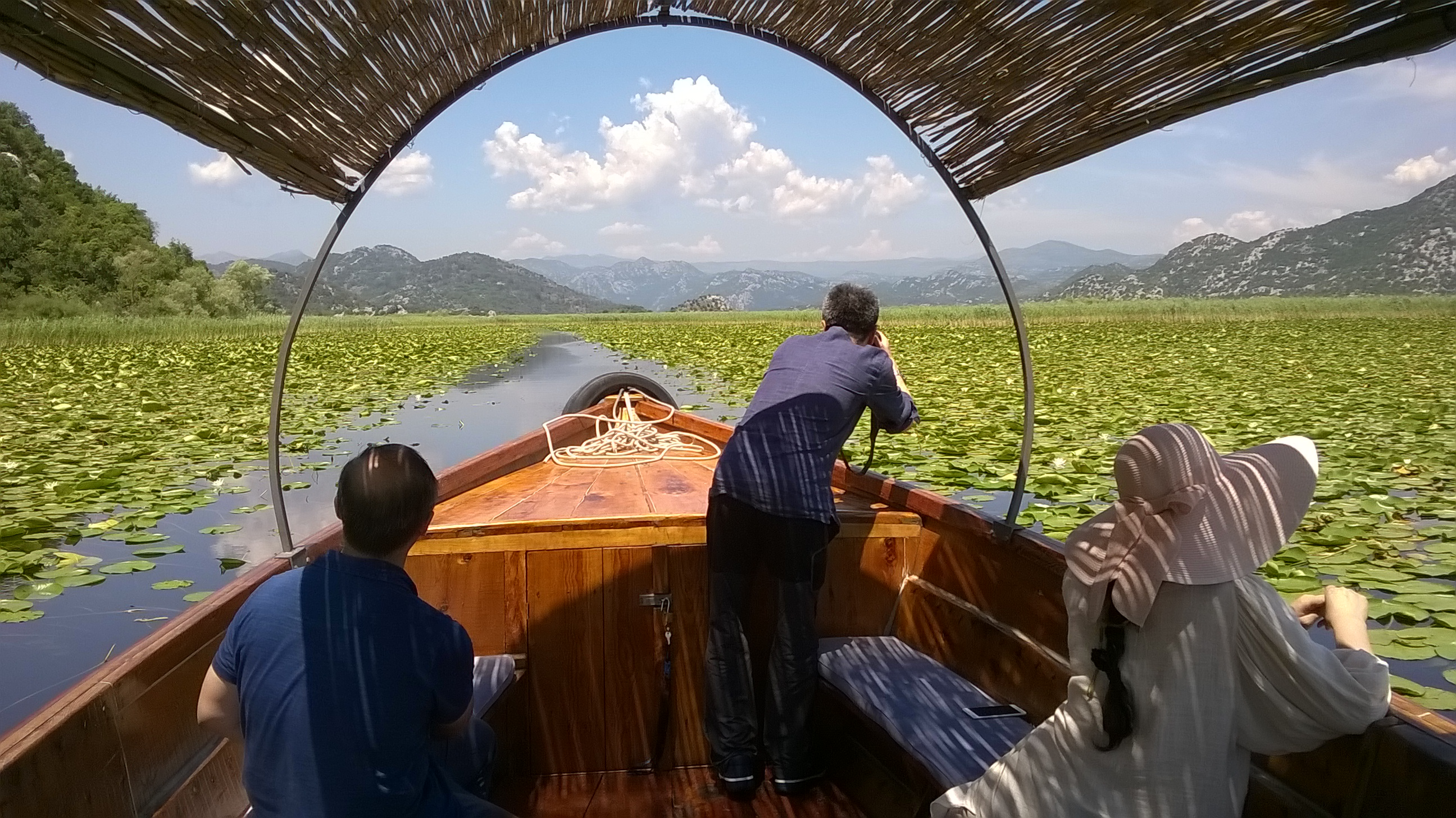 Skadar Lake Boat Trip; photo by Nino M. Markovic
