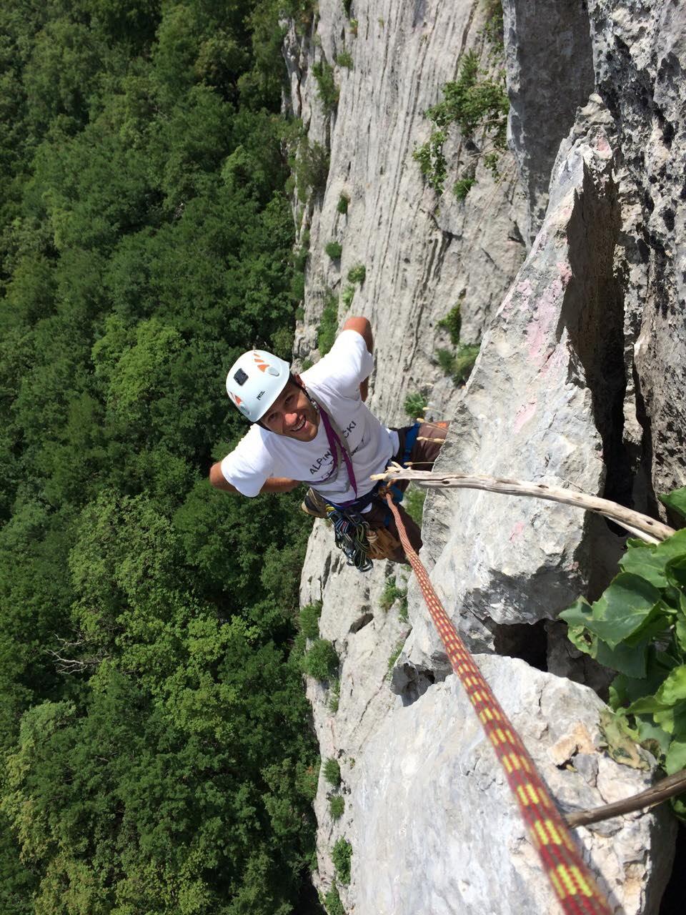 Smokovac Free Climbing, photo by Mico Cerovic